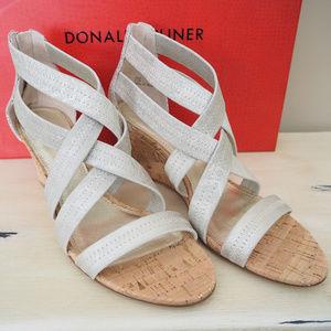 NEW Donald J. Pliner Wedge Sandals
